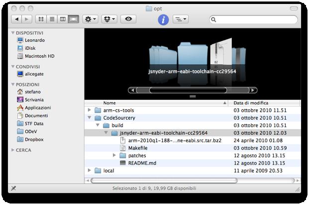 ODeV - Mac OS X Setup